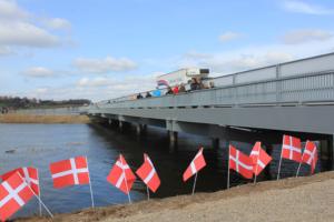 Indvielse af bro over Gudenå d. 1/4-2014